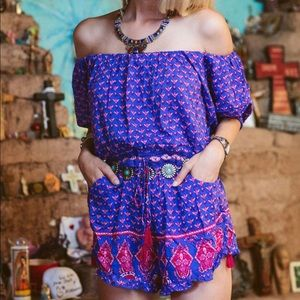 Spell & The Gypsy Sunset Road Playsuit
